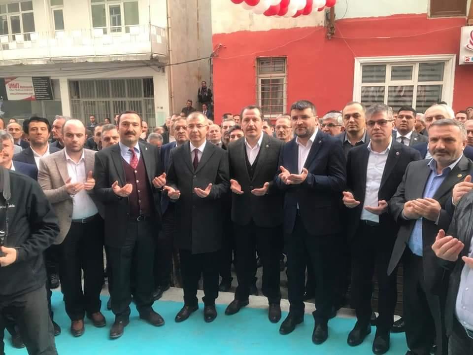 Şube Hizmet Binamızın Açılışını Genel Başkanımız Ali Yalçın'ın katılımı gerçekleştirdik.
